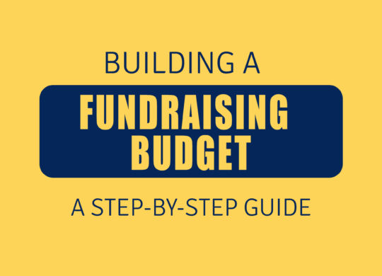 FUNDRAISING BUDGET
